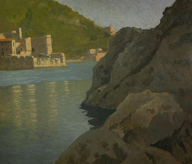 Augusto Comas Blanco, Paisajistas españoles, Pintor español, Pintores Valencianos. Paisajes de Augusto Comas Blanco