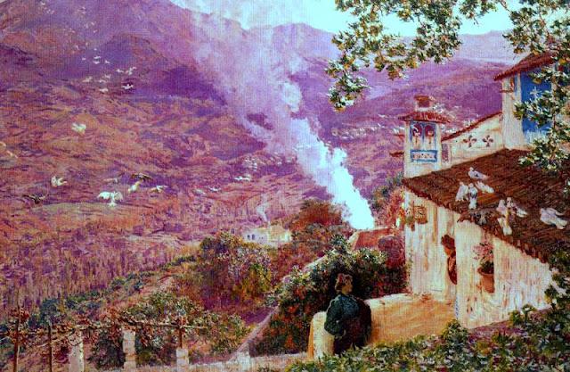 Antonio Muñoz Degrain, Paisajistas españoles, Paisajes de Muñoz Degrain, Pintor español, Pintores Valencianos, Pintores de Valencia, Pintor Muñoz Degrain