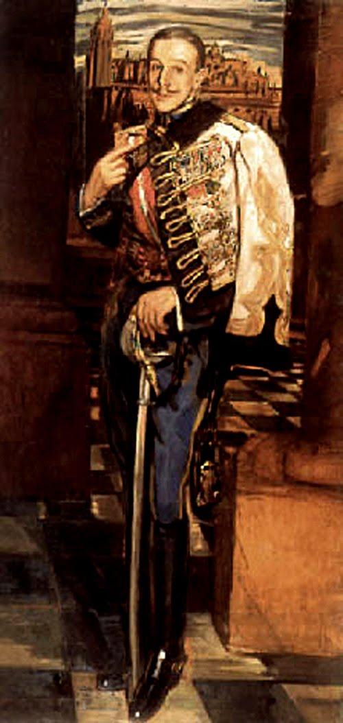Antonio Ortiz Echagüe, Retrato de Alfonso XIII, Alfonso XIII, Retrato de Felipe VI, Retratos de Felipe VI, Felipe VI, Cuadro de Felipe VI, Nuevo retrato de Felipe VI, Familia Real Española, Leonor de Borbón, Sofía de Borbón