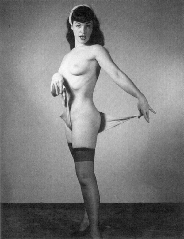 Bettie page nude pic