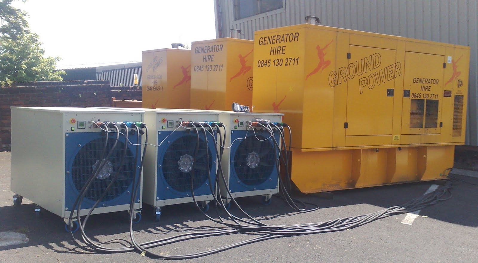 Load Bank blog from Hillstone Products: Generator testing using AC load banks