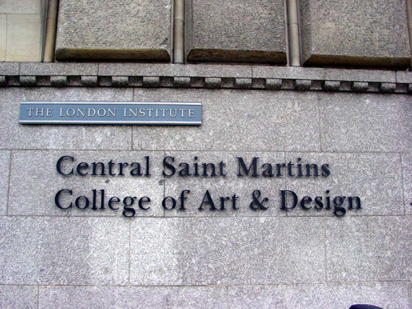 Central Saint Martins School Of Art And Design Londres