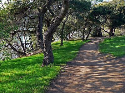 Dirt Path near Ferry Land