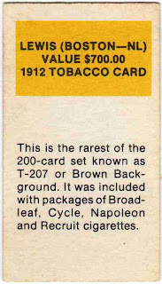 Cardboard junkie card of the week 21808 simple and to the point a classic example of early 80s reprint sets cards like this is where i first learned about and became fascinated by the early fandeluxe Images