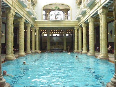 Banos Gellert.Disappearing Budapest The Gellert Hotel And Pool