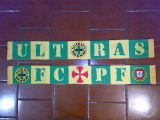 e831a87c53 Claques de Portugal  Novo cachecol e novos estandartes dos Yellow Boys.