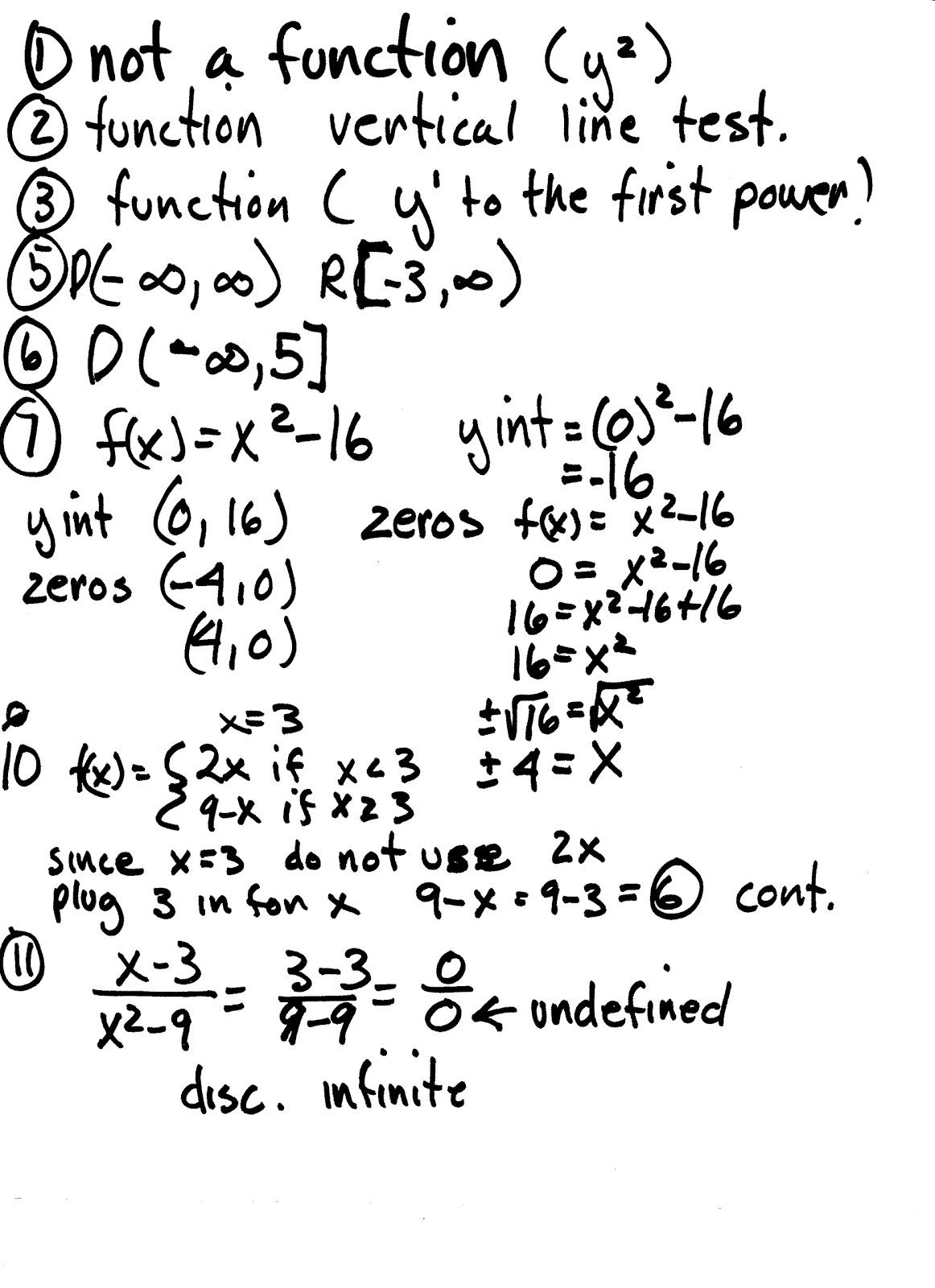 Apache Math: Precalculus Practice test akey