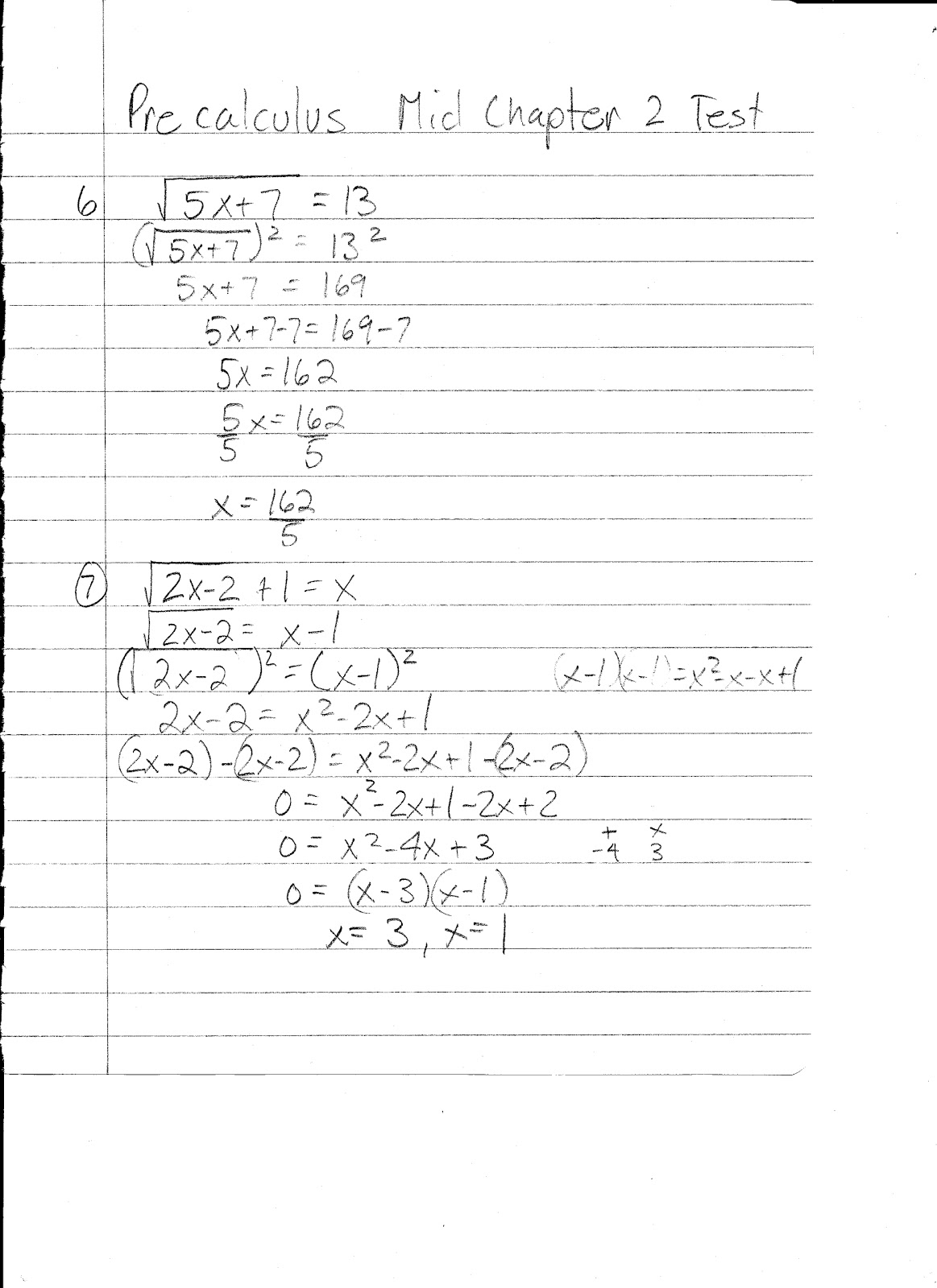 Apache Math Precalculus Practice Answer Key