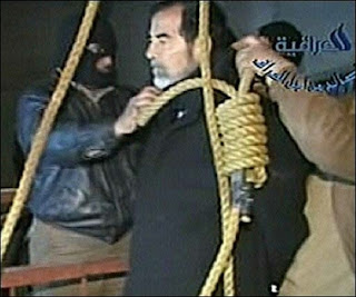 Congratulate, your amateur video shows the final moments of saddam hussein consider
