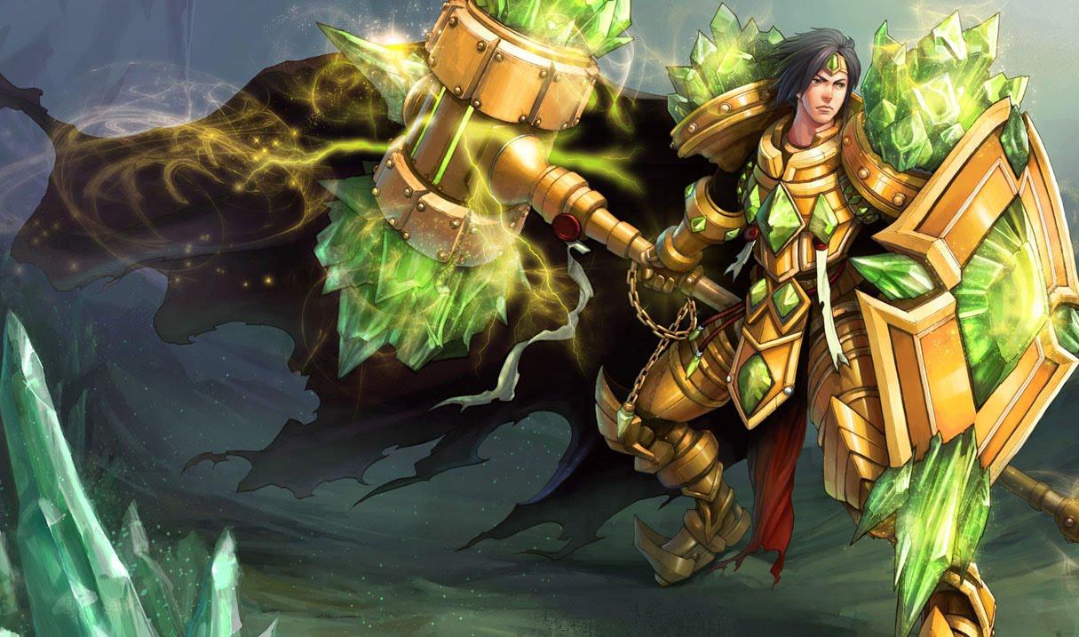 League of Legends Wallpaper: Taric - The Gem Knight Gem League Of Legends
