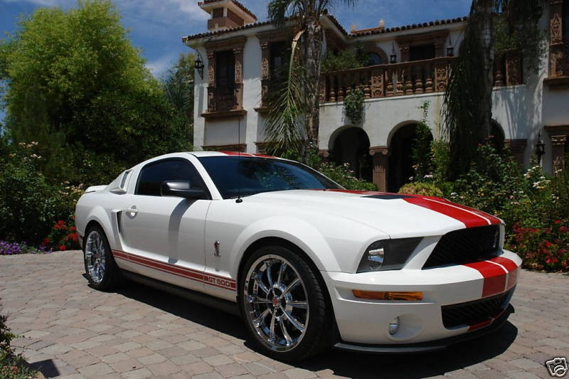 Ford Mustang Gt500 Red Appearance Package Ford Mustang
