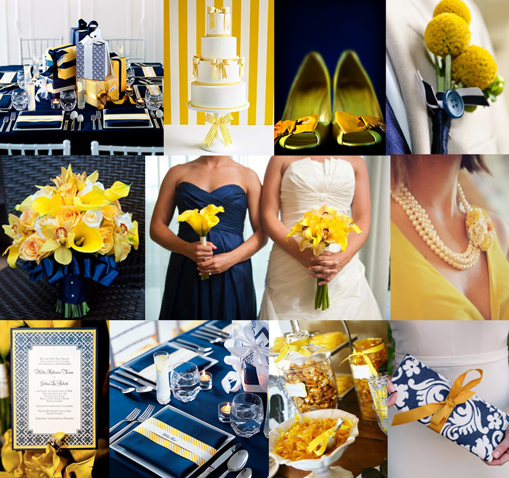 Creative Montage: Inspiration Board Wednesday: Navy And