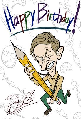 Happy Birthday Clip Art Pencil Drawing