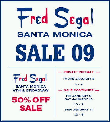 Sale at Fred Segal