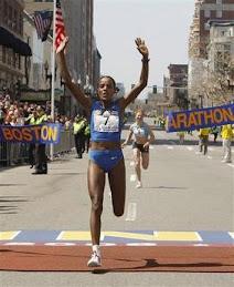 Ethiopian Runner Dire Tune wins 2008 Boston Marathon!