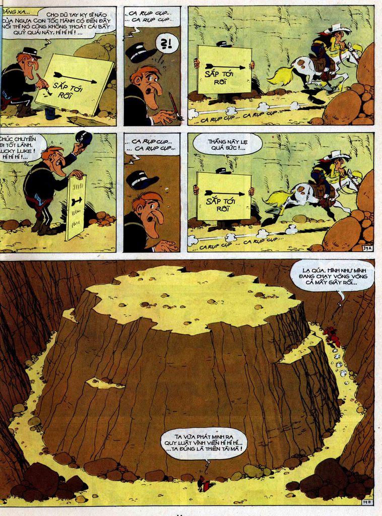 Lucky Luke tập 35 trang 39