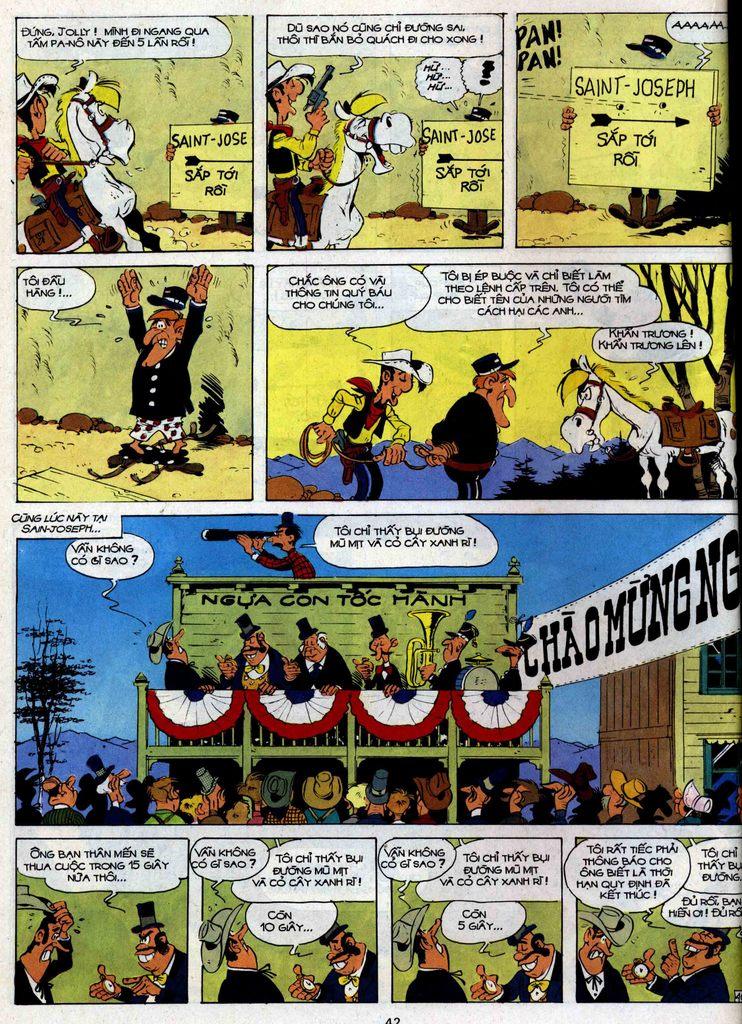 Lucky Luke tập 35 trang 40