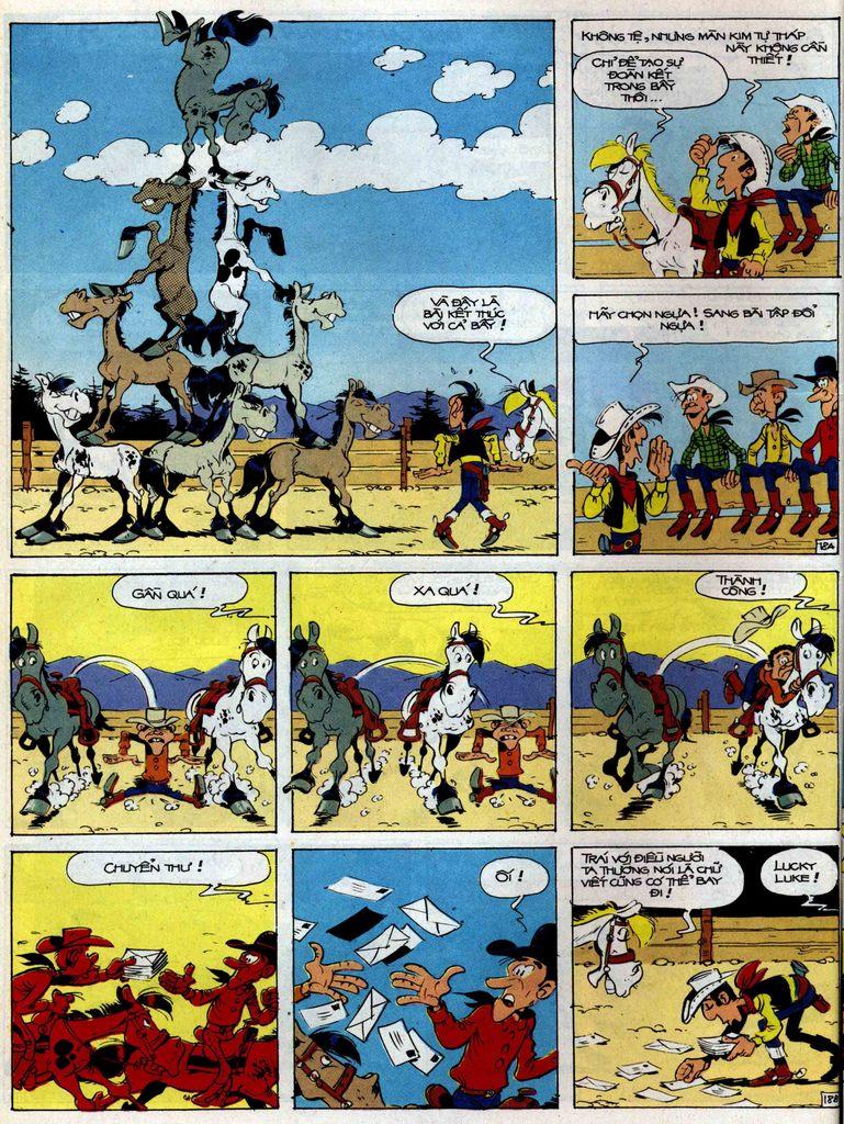 Lucky Luke tập 35 trang 18