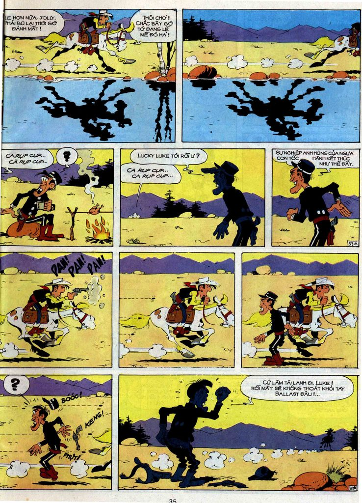 Lucky Luke tập 35 trang 33