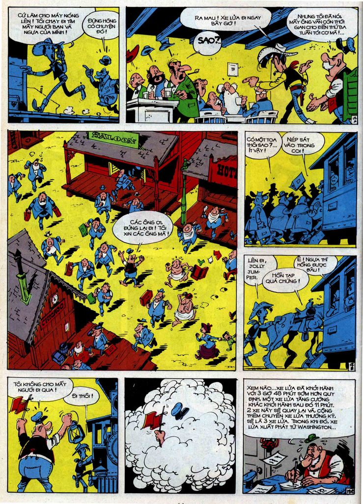 Lucky Luke tập 34 trang 12