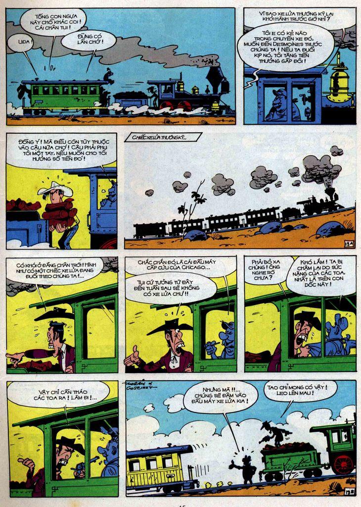Lucky Luke tập 34 trang 13