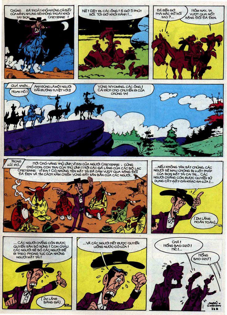 Lucky Luke tập 34 trang 33