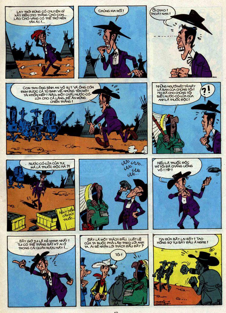 Lucky Luke tập 34 trang 41