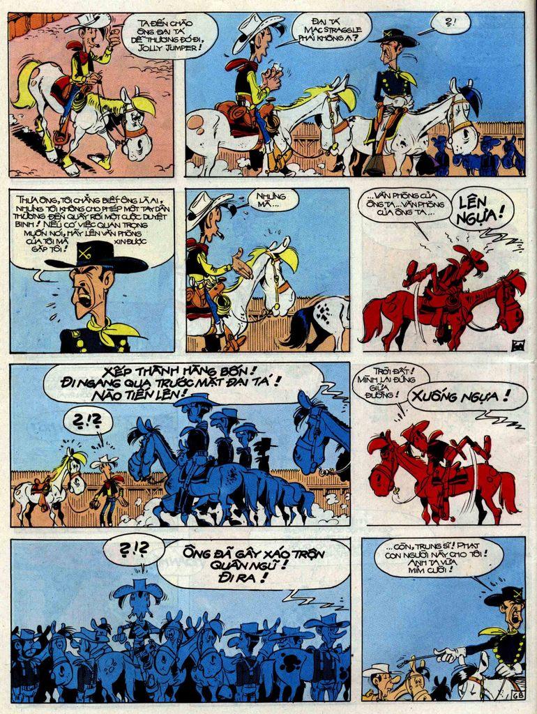 Lucky Luke tập 33 trang 6