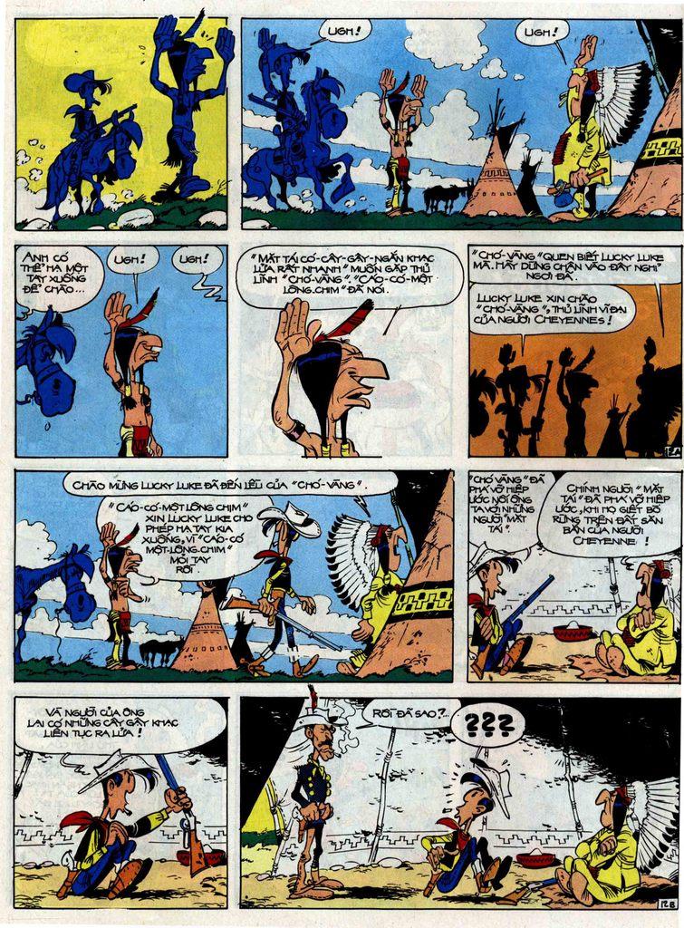 Lucky Luke tập 33 trang 12