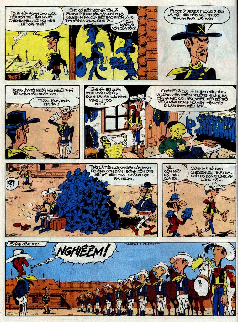 Lucky Luke tập 33 trang 14