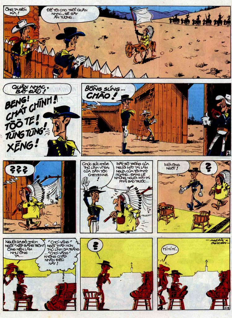 Lucky Luke tập 33 trang 16