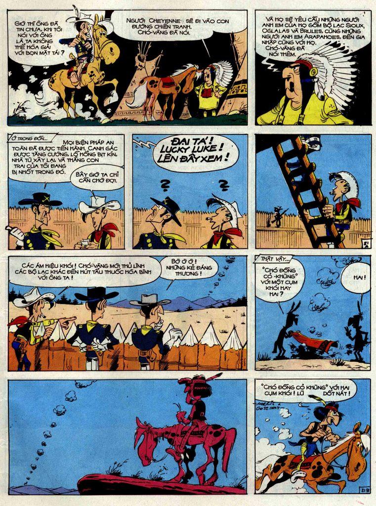 Lucky Luke tập 33 trang 21