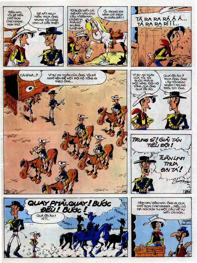 Lucky Luke tập 33 trang 23