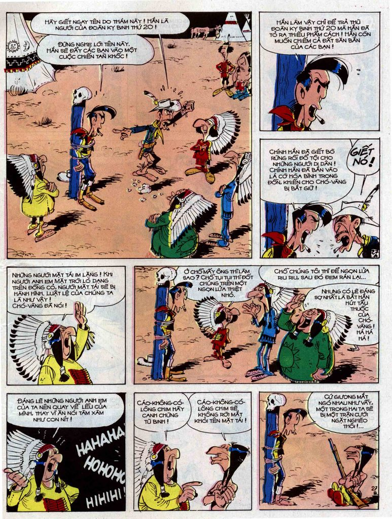 Lucky Luke tập 33 trang 27