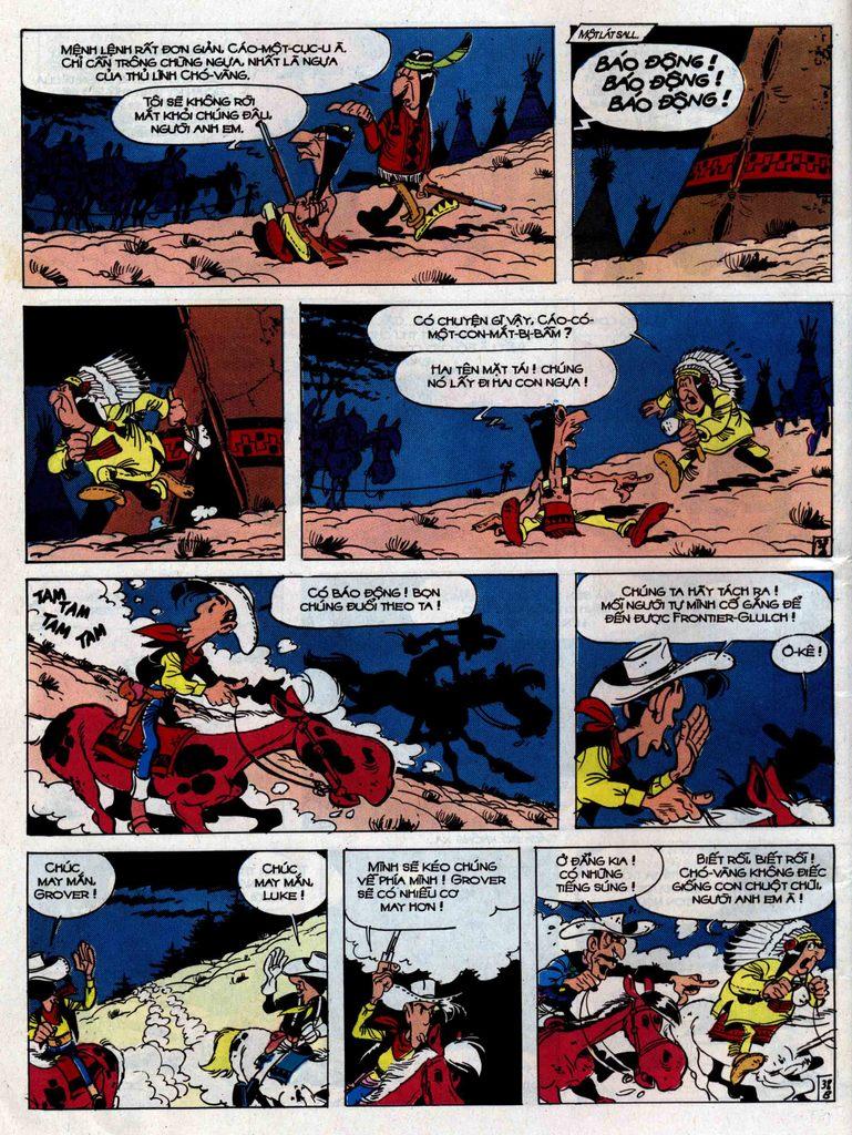 Lucky Luke tập 33 trang 38