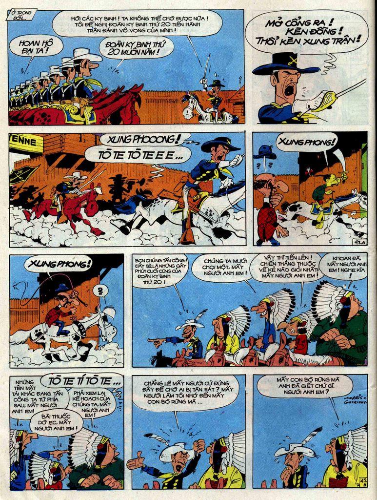 Lucky Luke tập 33 trang 42