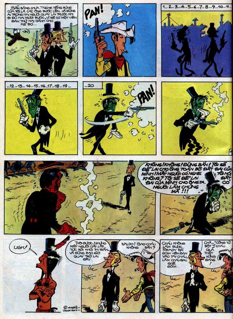 Lucky Luke tập 31 trang 42