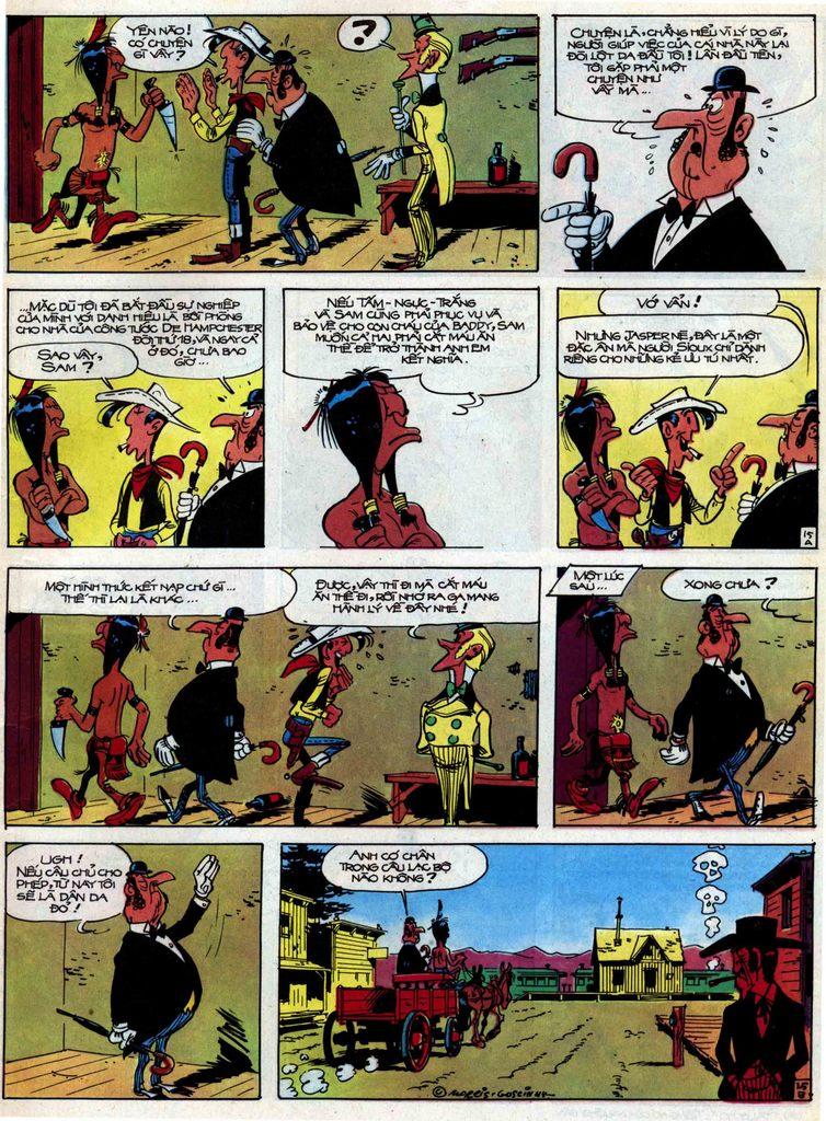 Lucky Luke tập 31 trang 15