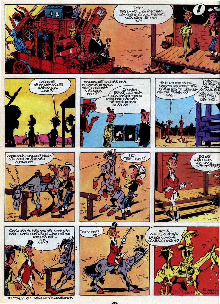 Lucky Luke tập 31 trang 16