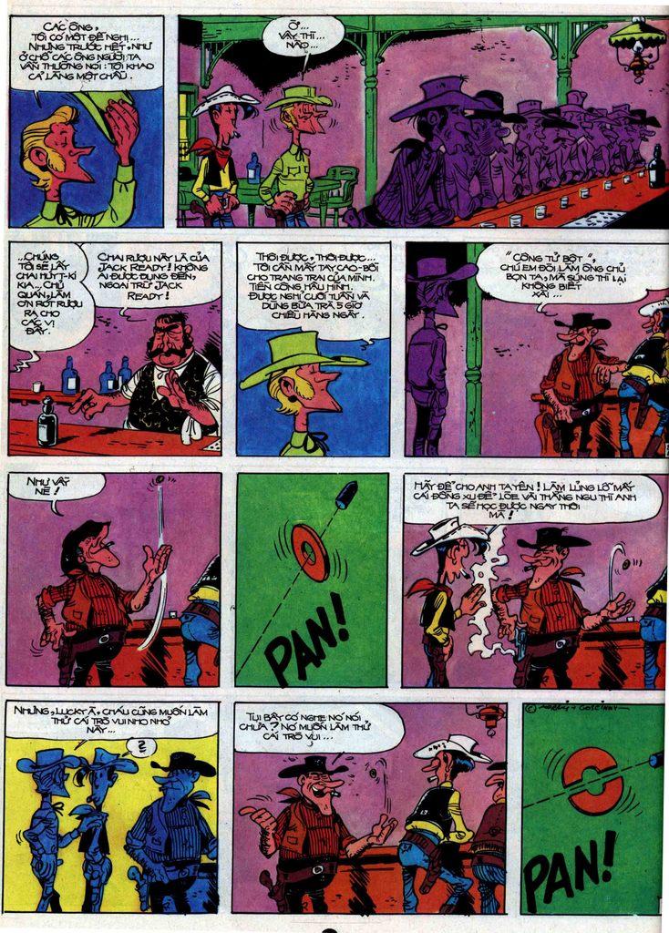 Lucky Luke tập 31 trang 20