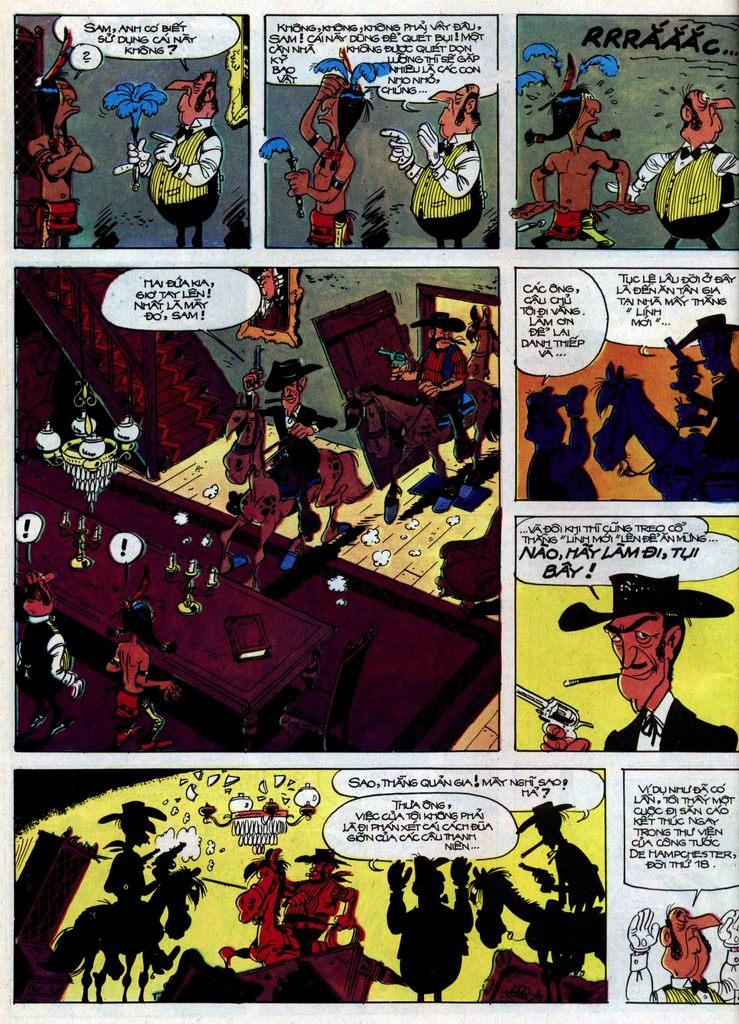 Lucky Luke tập 31 trang 22