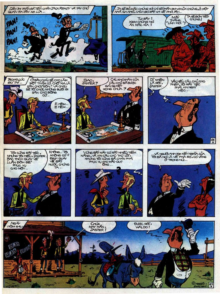 Lucky Luke tập 31 trang 43