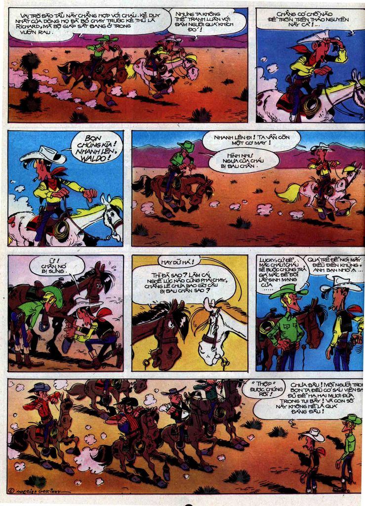 Lucky Luke tập 31 trang 28