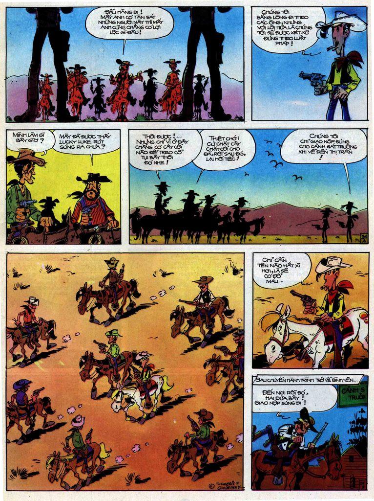 Lucky Luke tập 31 trang 29