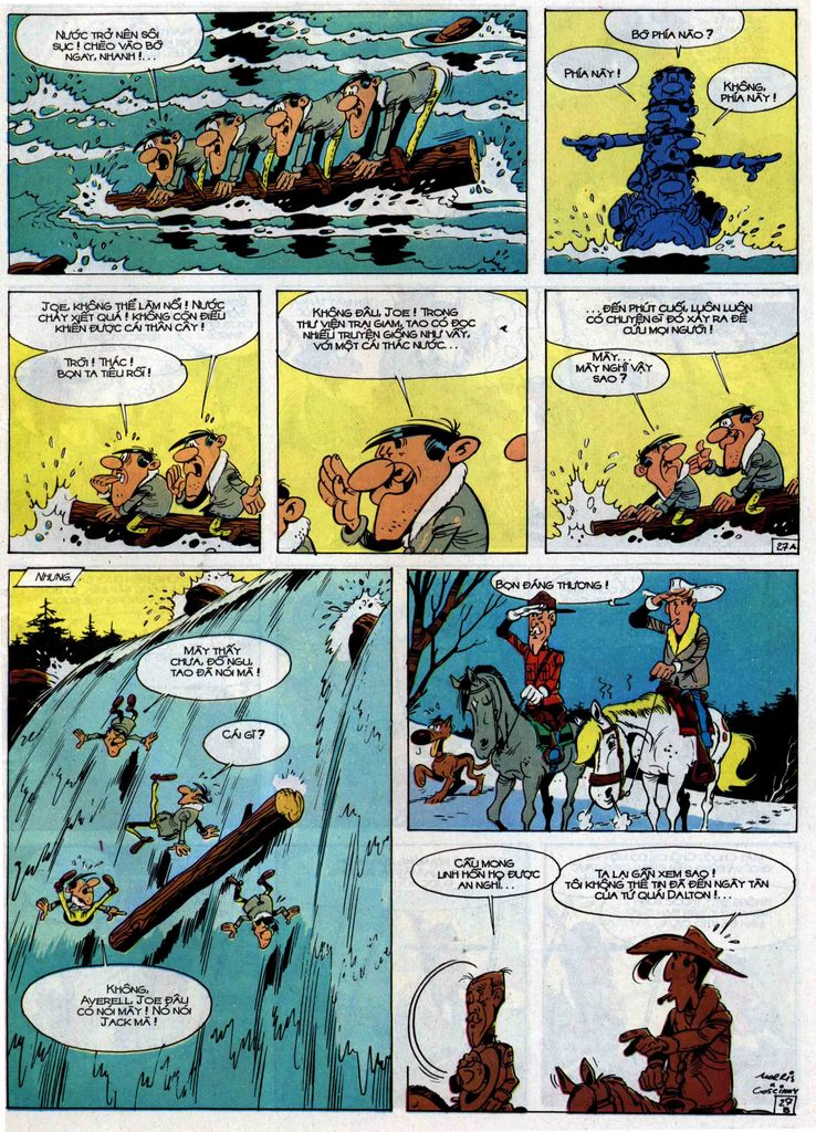 Lucky Luke tập 30 trang 25