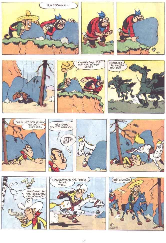 Lucky Luke tập 29 trang 10