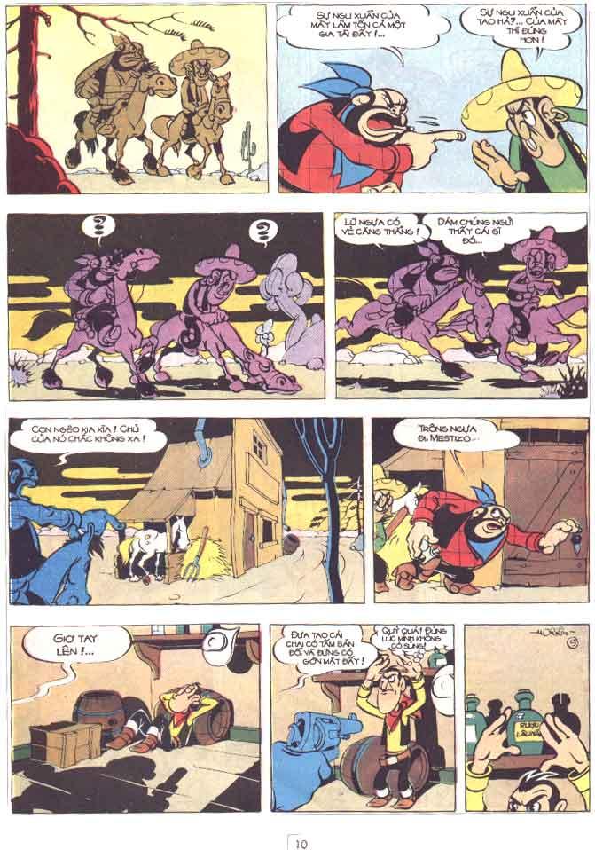 Lucky Luke tập 29 trang 11