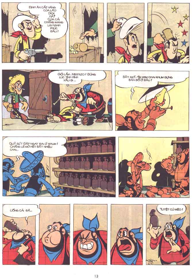 Lucky Luke tập 29 trang 14