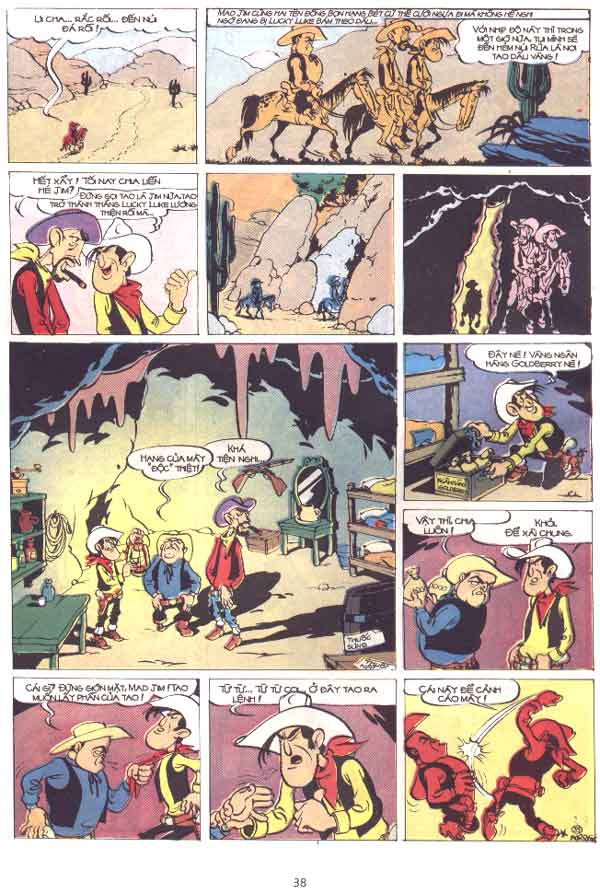Lucky Luke tập 29 trang 39