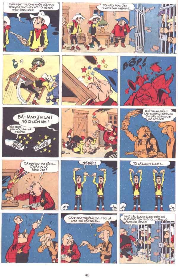 Lucky Luke tập 29 trang 47